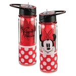 Minnie Mouse Tritan 18oz. Straw Water Bottle